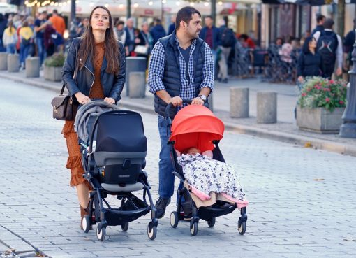 разходка с бебе