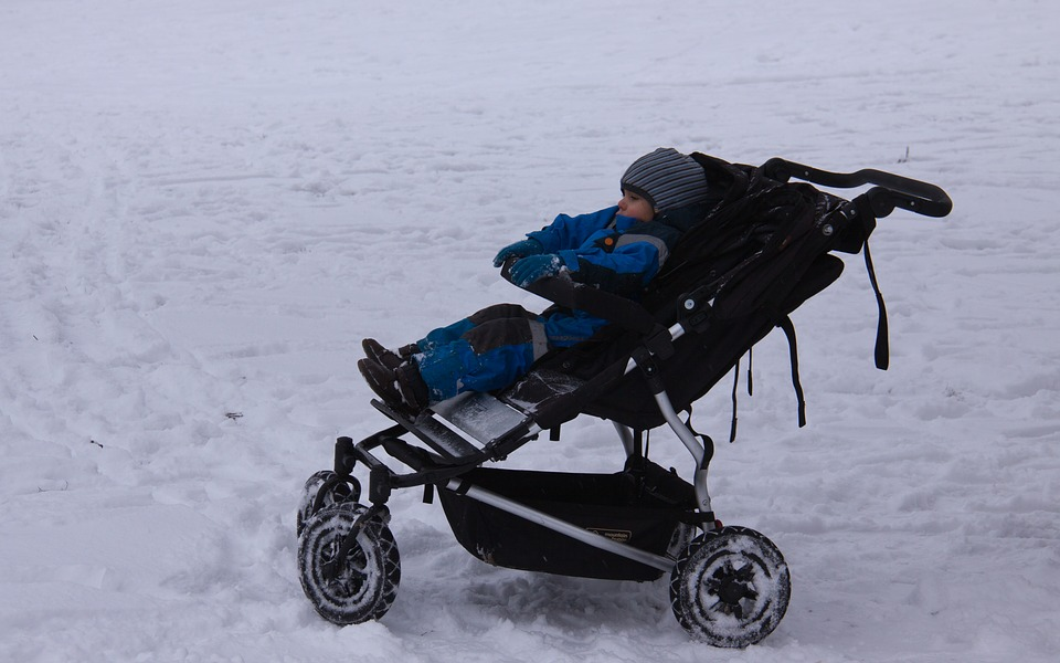 зимна количка